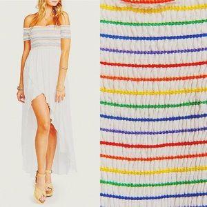 🌈 PRIDE Show Me Your MuMu Willa Rainbow Dress